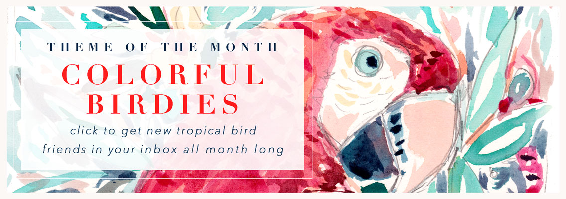 Beach-inspired florals and botanicals for June