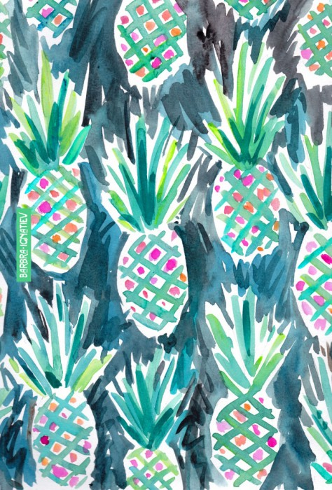 Daily Color #130: Wild Pineapples