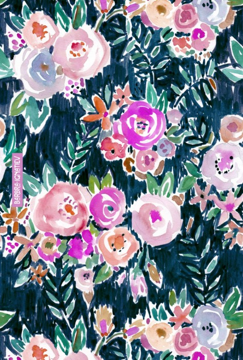 PROFUSION FLORAL – MIDNIGHT