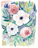 White Anemone Floral – 8×10