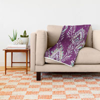 plum-brave-feather-tribal-throw-blankets