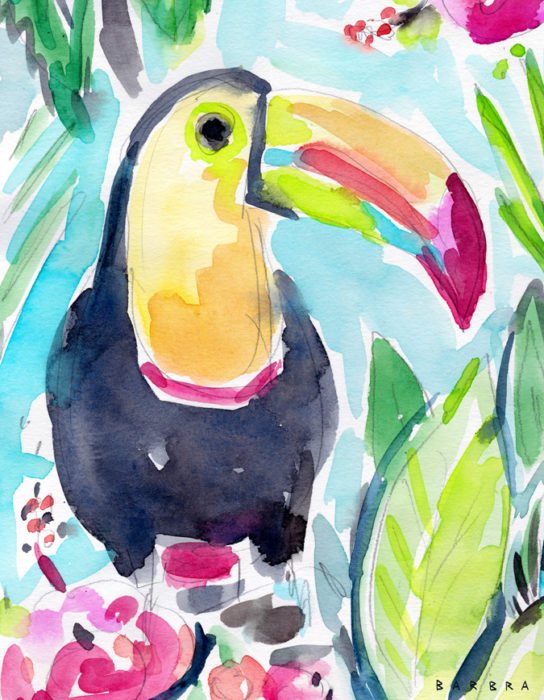 TORY THE TOUCAN