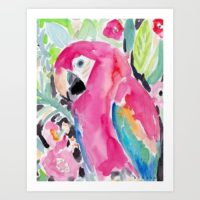 scarlet-the-macaw-prints