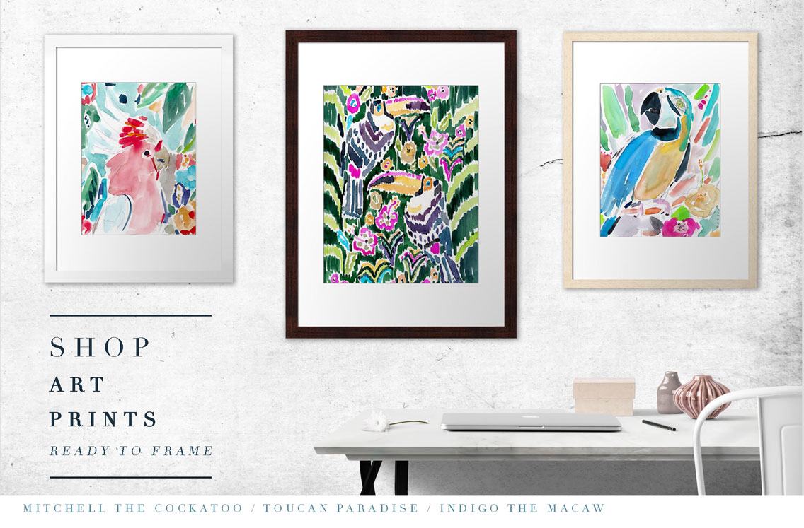 Shop Bird Art Prints & More