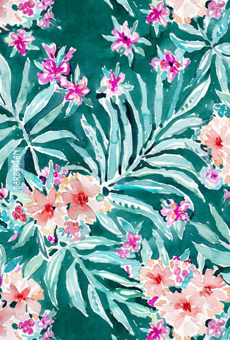 FRONDS ON FLEEK Tropical Palm Floral