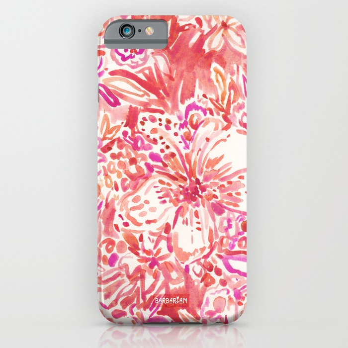HAWAIIAN PUNCH Red Wild Hibiscus Floral Phone Case