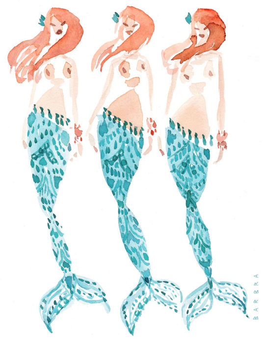 PACIFIC BABES // 12 Days of Mermaids Series